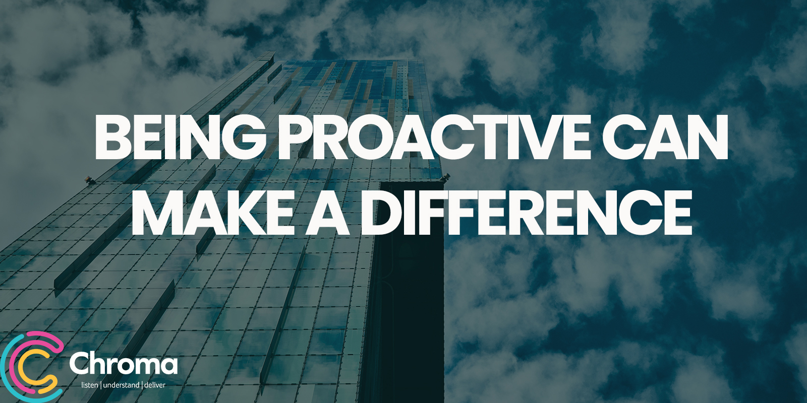 Being proactive can make a difference